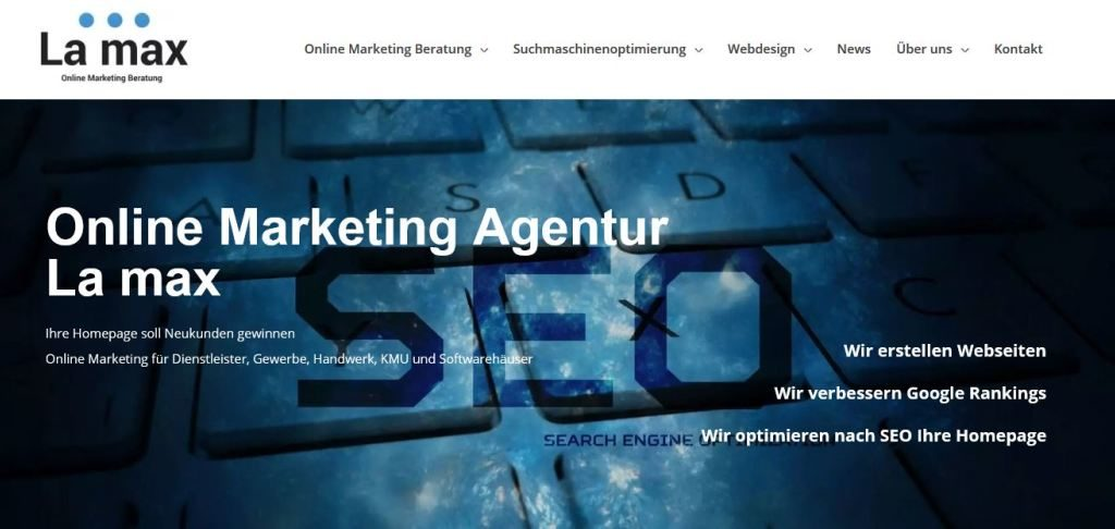 Webdesign and SEO Bali La max