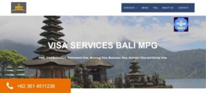 Webdesign and Search Engine Optimization Bali MPG