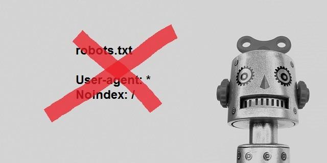 Google robots.txt noindex