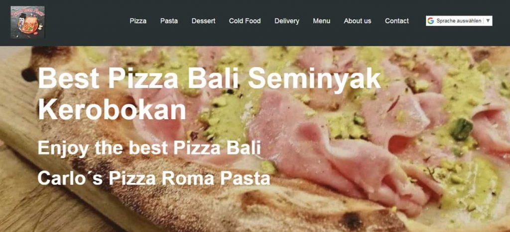 Reviews Webdesign Bali Best Pizza and Pasta